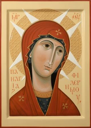 Image result for our lady of philermo new icon